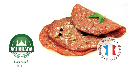 SLICED SMOKED SALAM BEEF WITH GREEN PEPPER