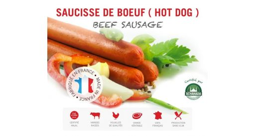 SAUCISSES DE BŒUF (HOT-DOG)