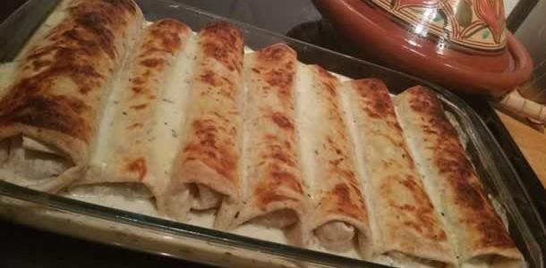 Enchiladas au bœuf et pepperoni