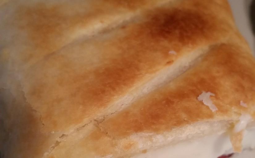 Feuilleté au Pastrami de Bœuf Délice Ikbal et béchamel